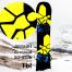 Наклейка на сноуборд Виниловая Breaking Bad Bee