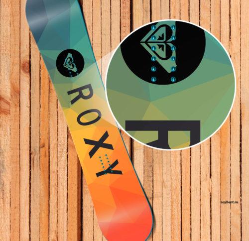 Сноуборд дизайн 2016 года Roxy