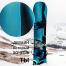 Виниловая наклейка на сноуборд в стиле Трон Наследие Quorra