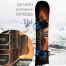 Виниловая наклейка на сноуборд Royllent 2016 Word of Tanks Full Logo