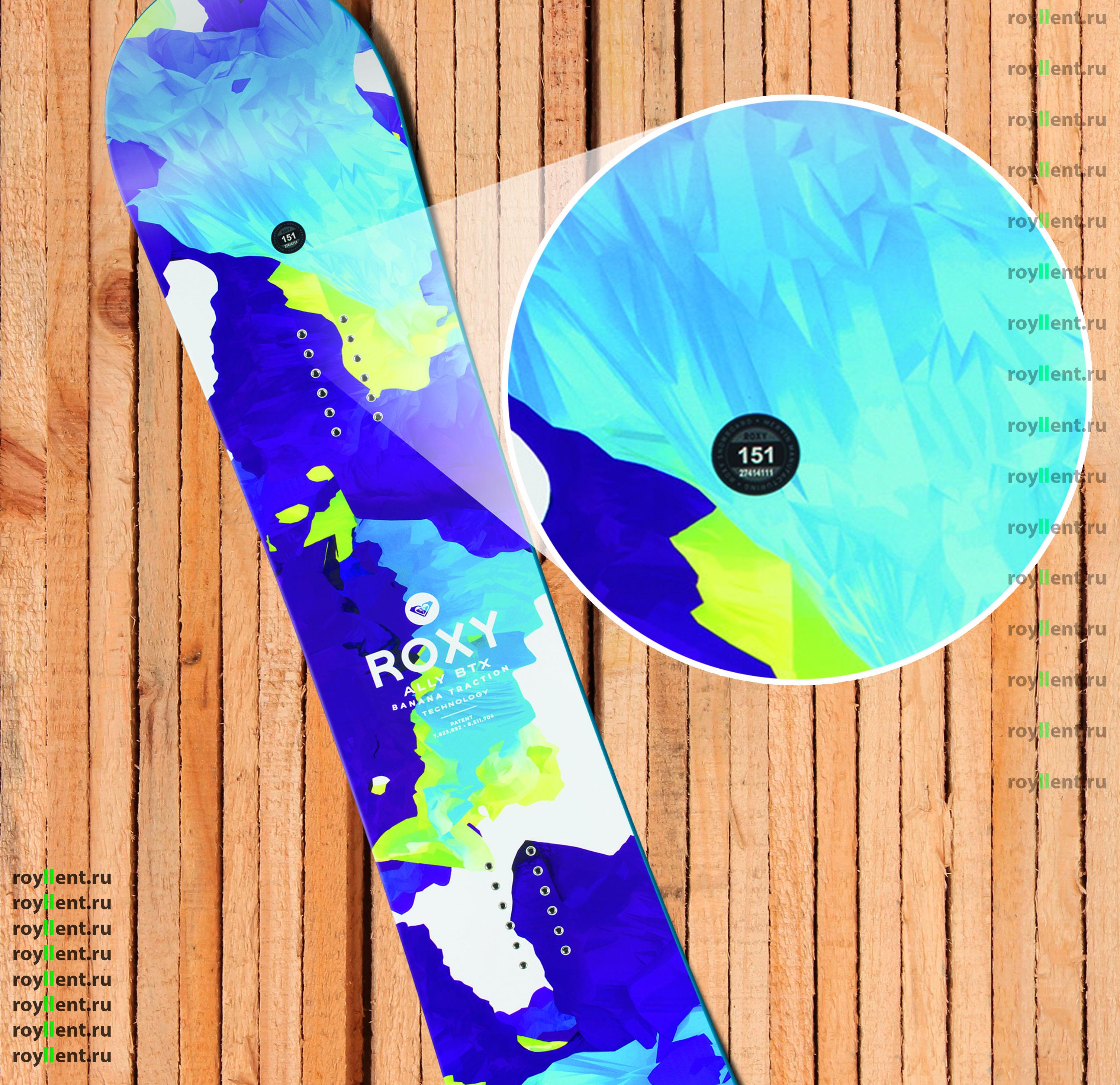 Заказать стикер на сноуборд с доставкой по России