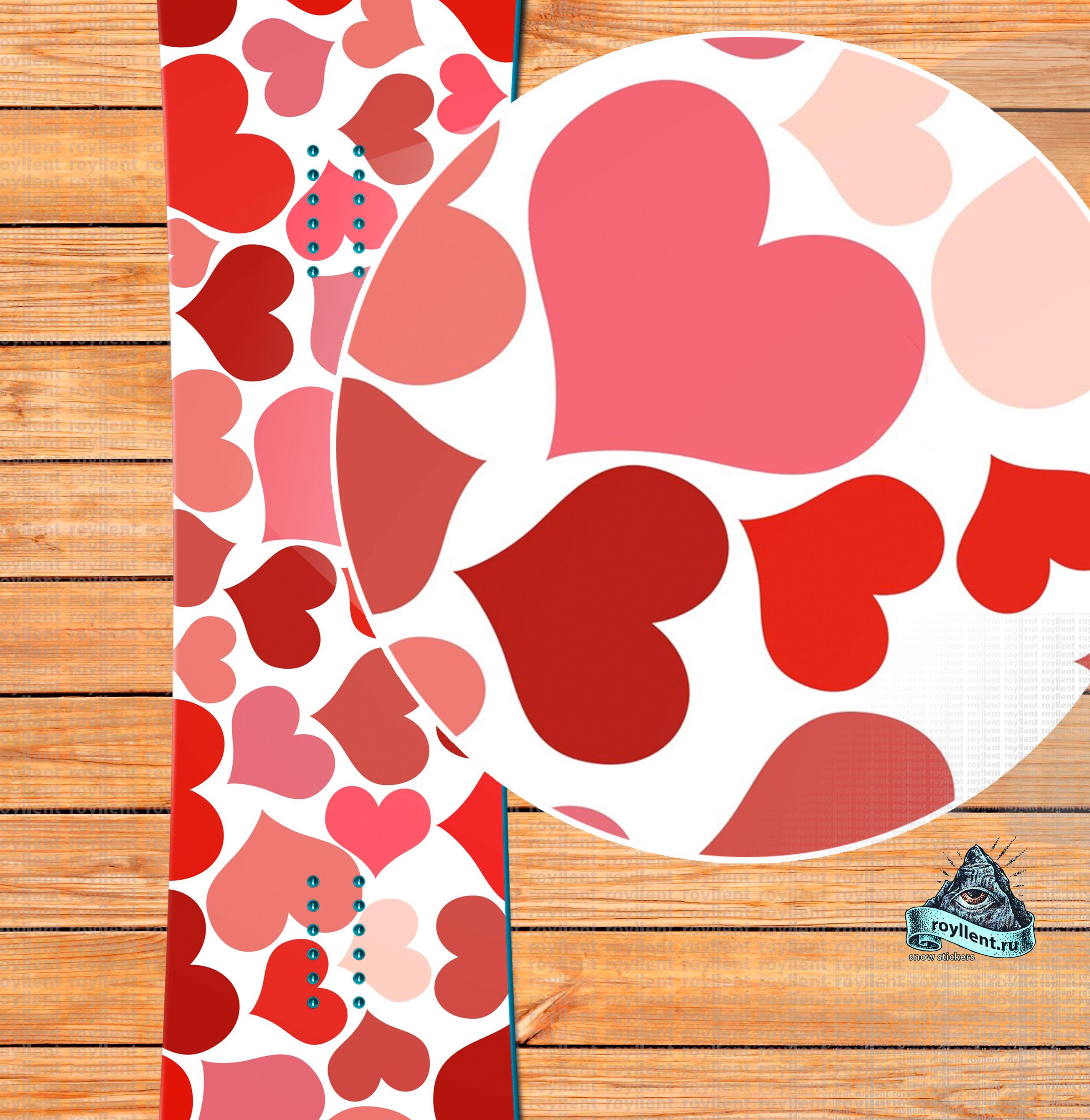 snowboard sticker, Abstract Heart Shape Artistic Snowboard Sticker, наклейка на доску, сноуборд стикер, полноразмерная наклейка на сноуборд, сноуборд стикер на доску, купить стике, стикер на сноуборд, заказать рисунок на доску, принт на сноуборд, наклейка