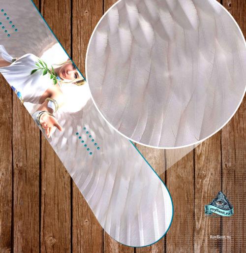 Angel snowboard skins Божественная наклейка.
