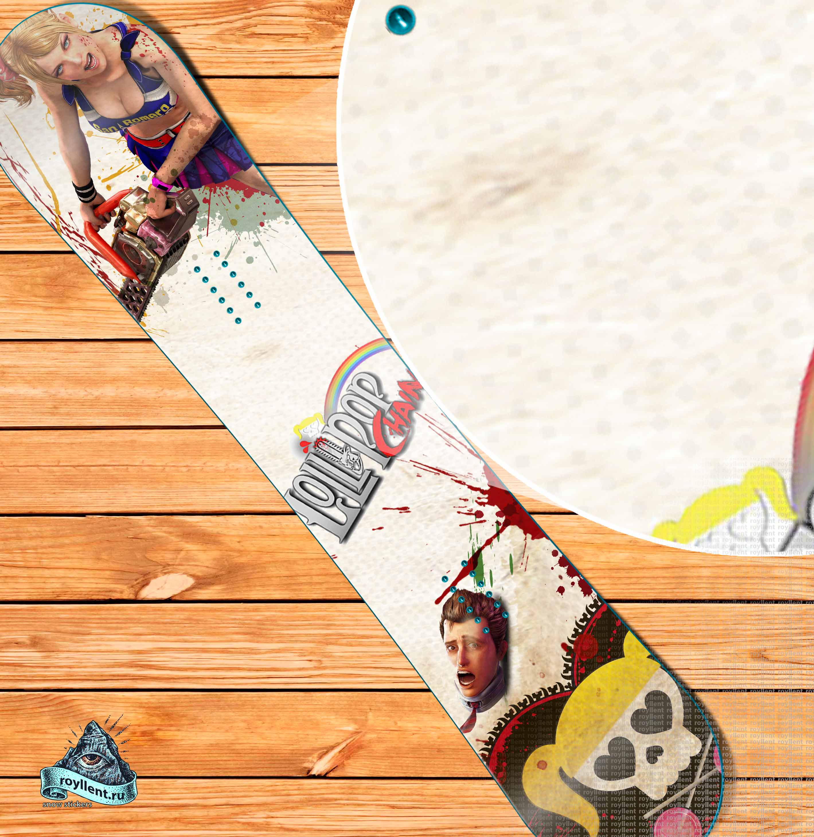 Lollipop Chainsaw Game виниловая наклейка