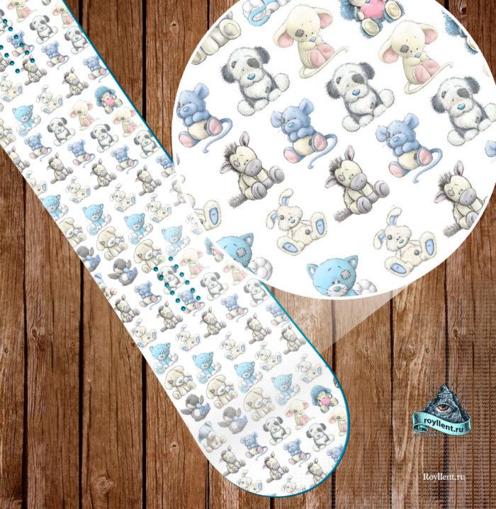 Сноуборд милота наклейка на доску для девочки подарок