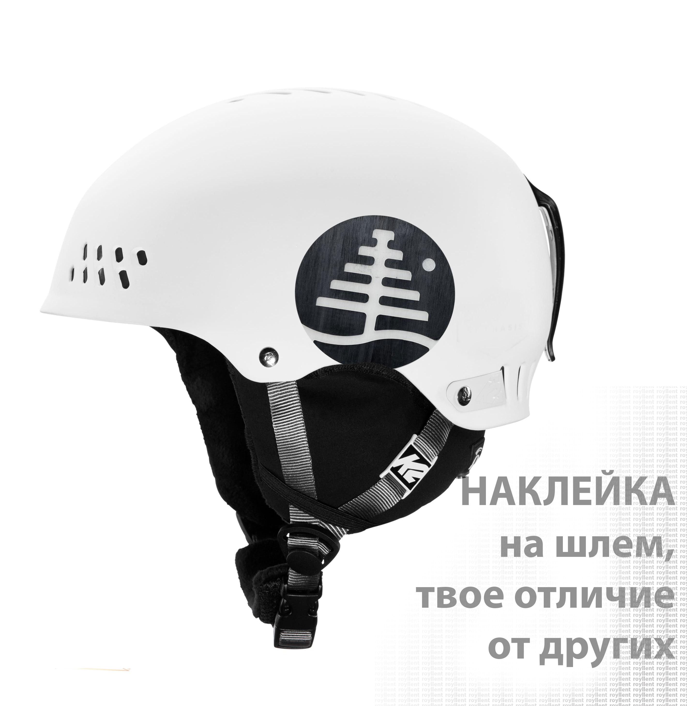 Burton Mystery Fish наклейка на шлем