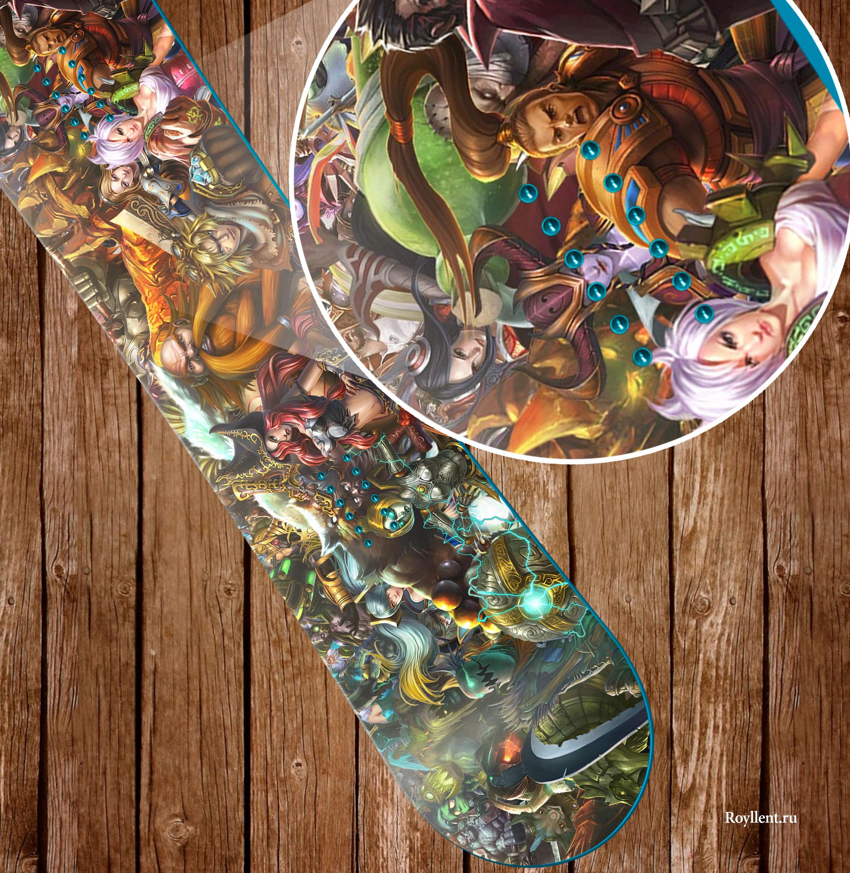 Наклейка в стиле Dota 2 League of Legends