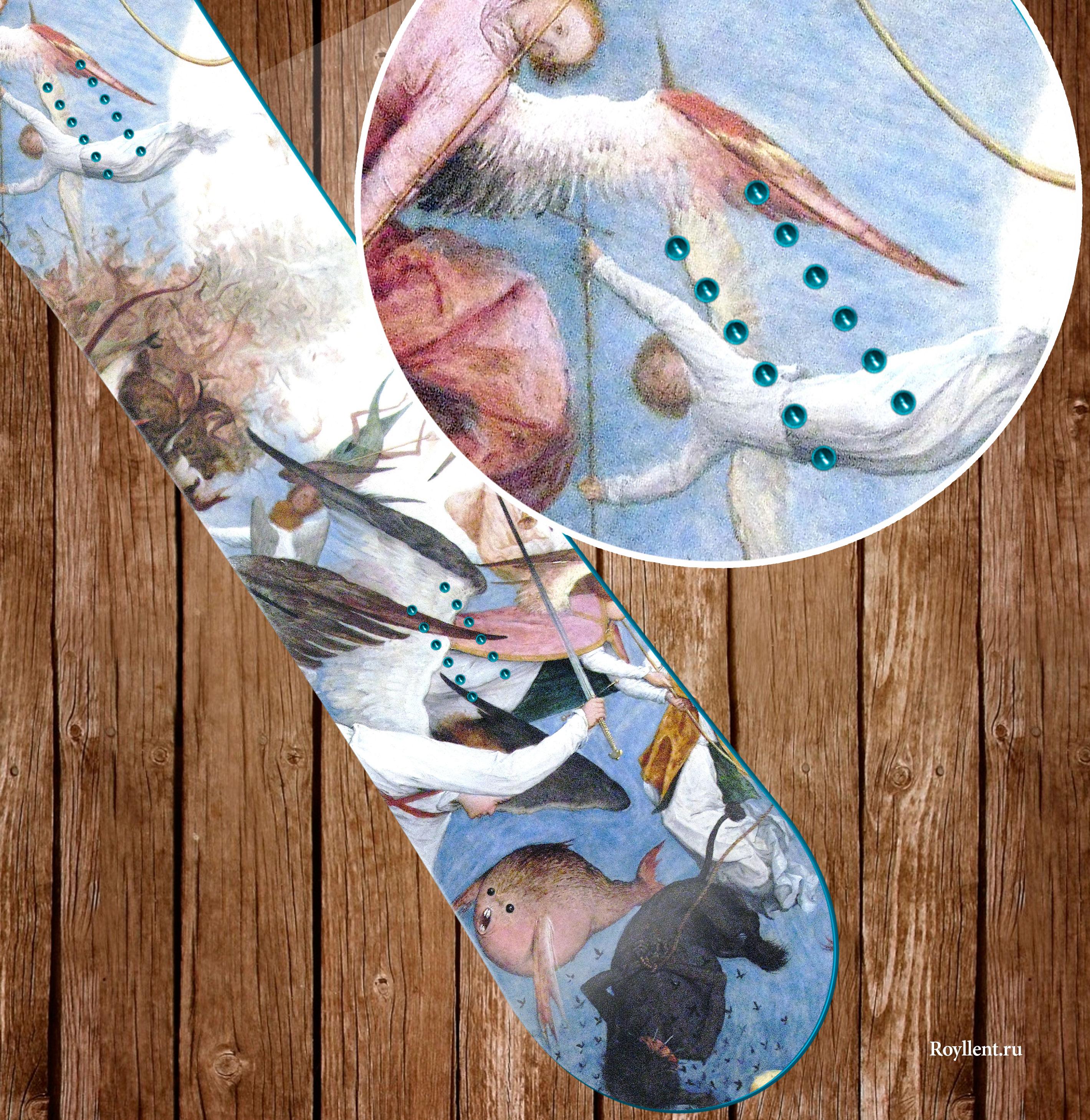 The Fall of the Rebel Angels виниловая наклейка для сноуборда