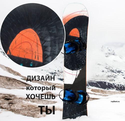 Наклейка на сноуборд Synchronicity
