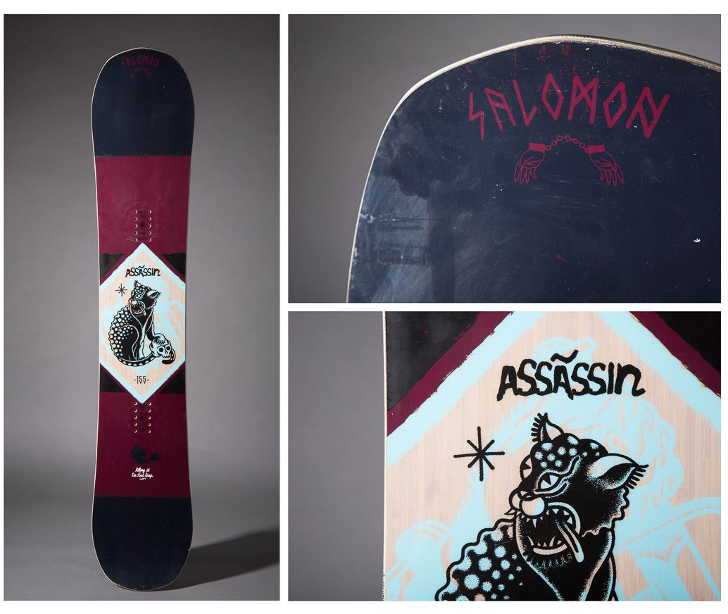 The Salomon Assassin Snowboard