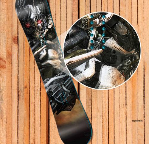 Наклейка на сноуборд Мegatron