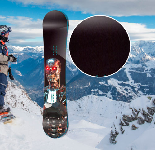 сноуборд с рисунком Terminator Genisys