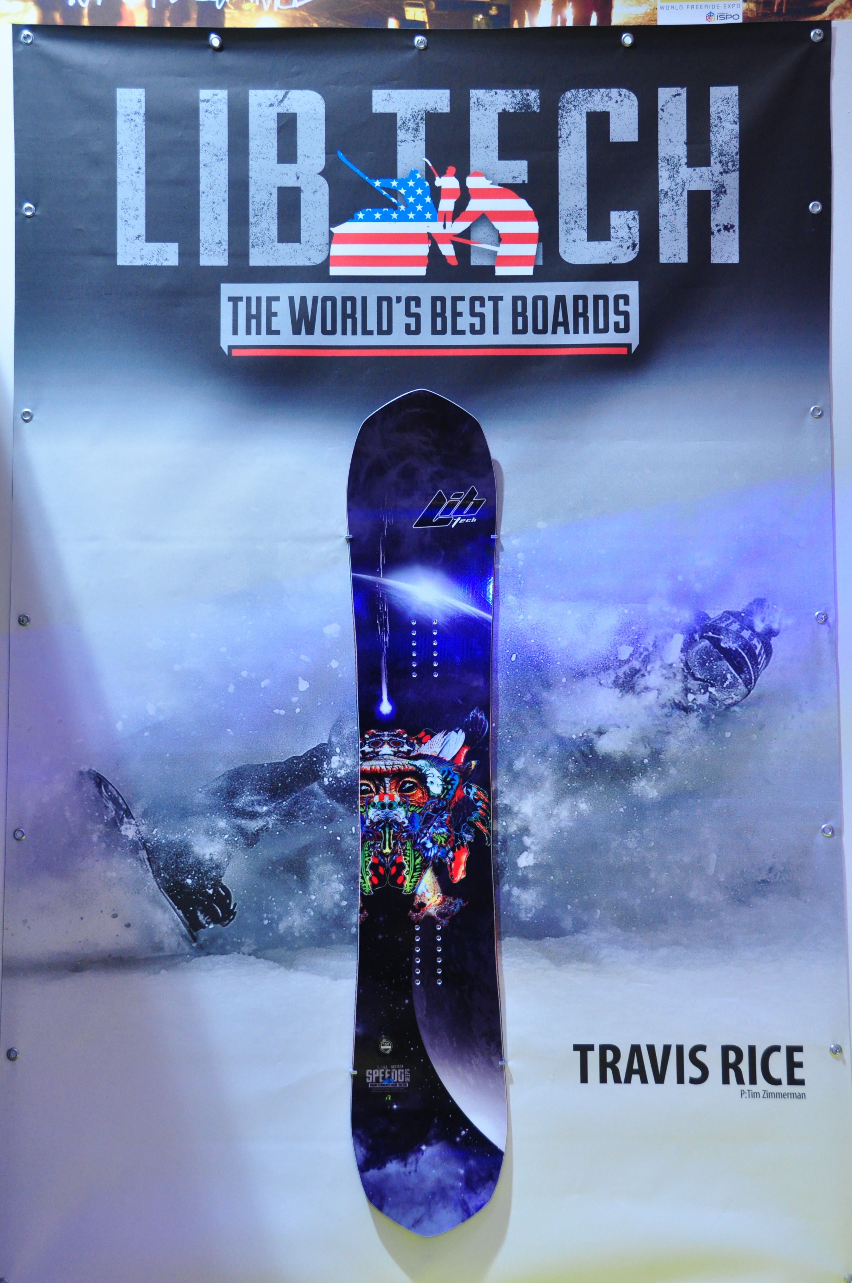 Best Men's All-Mountain Snowboards 2015- 2016 Lib Tech Travis Rice Gold Member