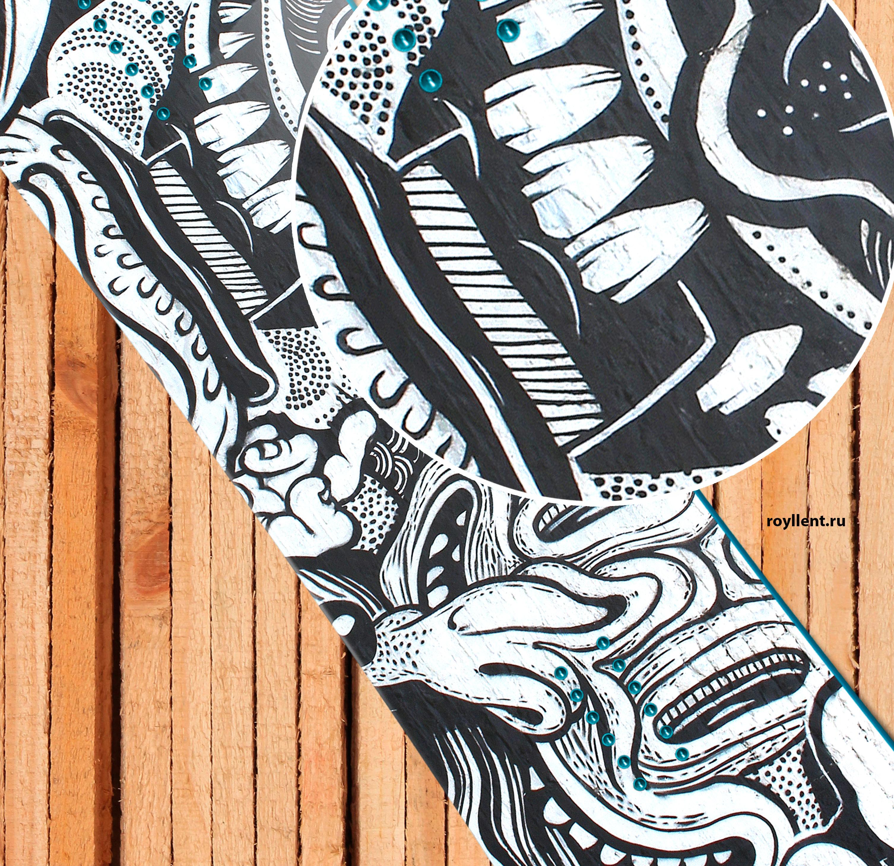 Граффити дизайн принт для сноуборда купить