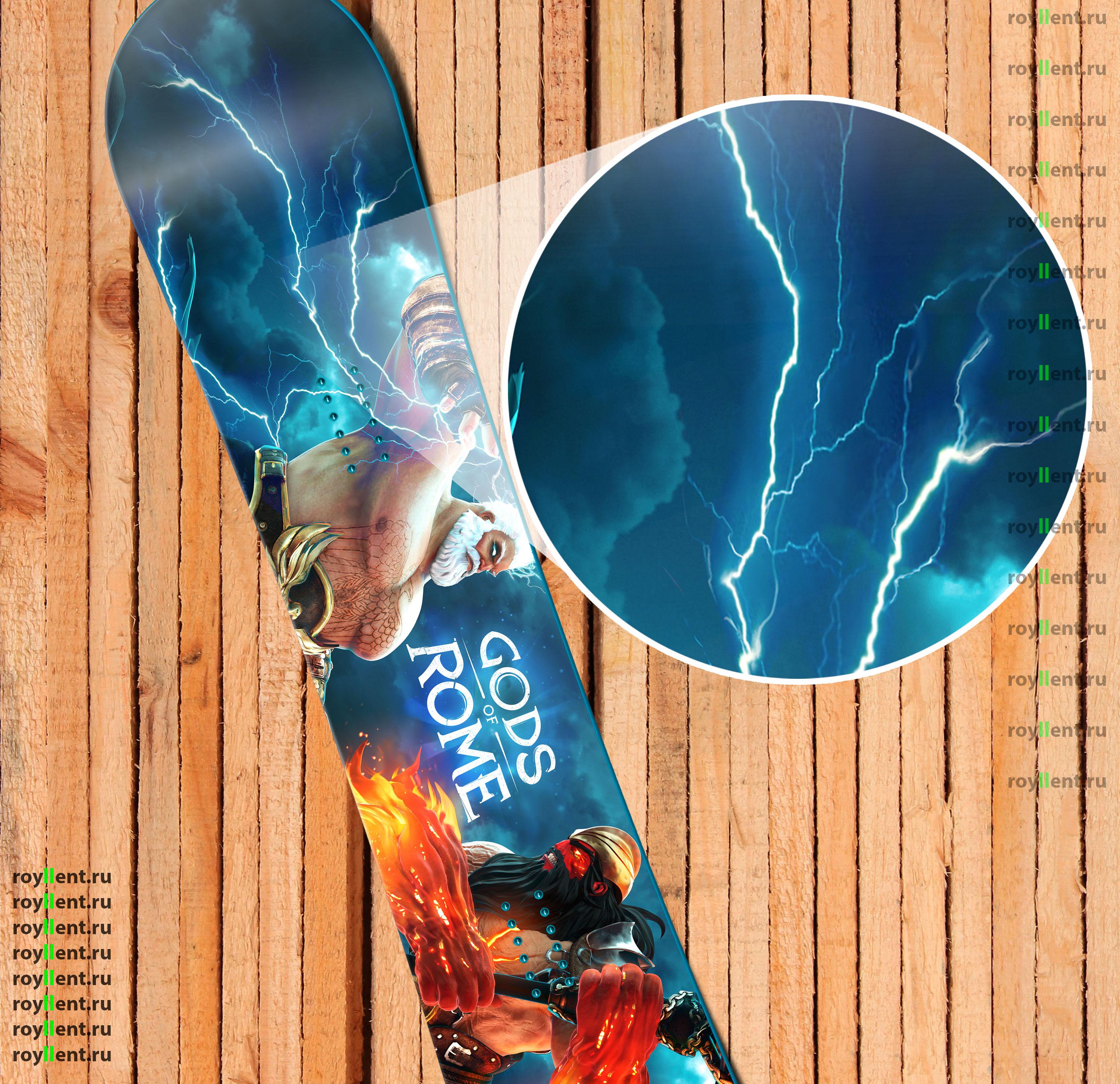 Наклейка на сноуборд купить с доставкой по Москве