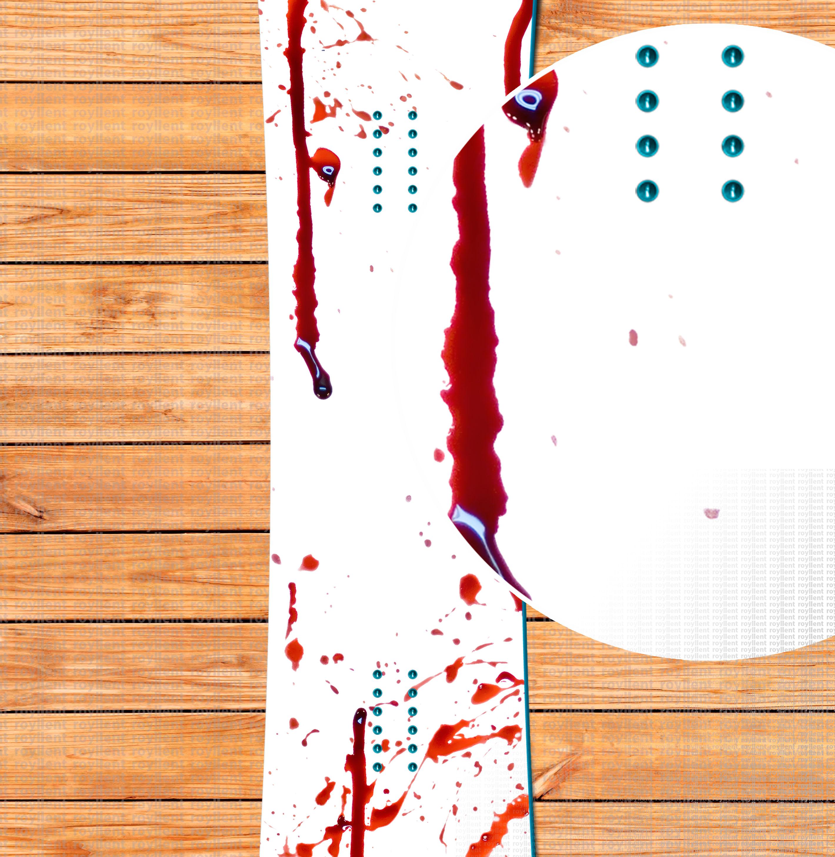 blood snowboard design sticker 2016 Купить с доставкой по России интернет магазин наклеек в стиле кровь