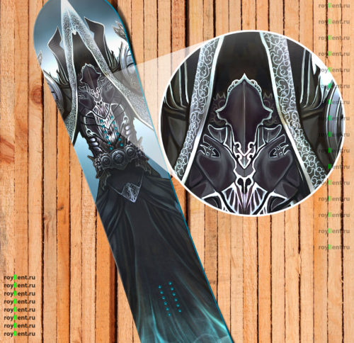 diablo 3 fan art design snowboard 2016 years internet shop