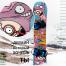 Виниловая наклейка на сноуборд Royllent 2016 Queergeeks Design sticker