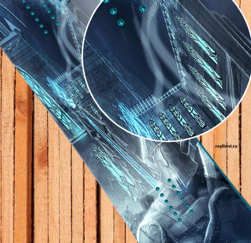 Наклейка на доску в стиле Диабло 3