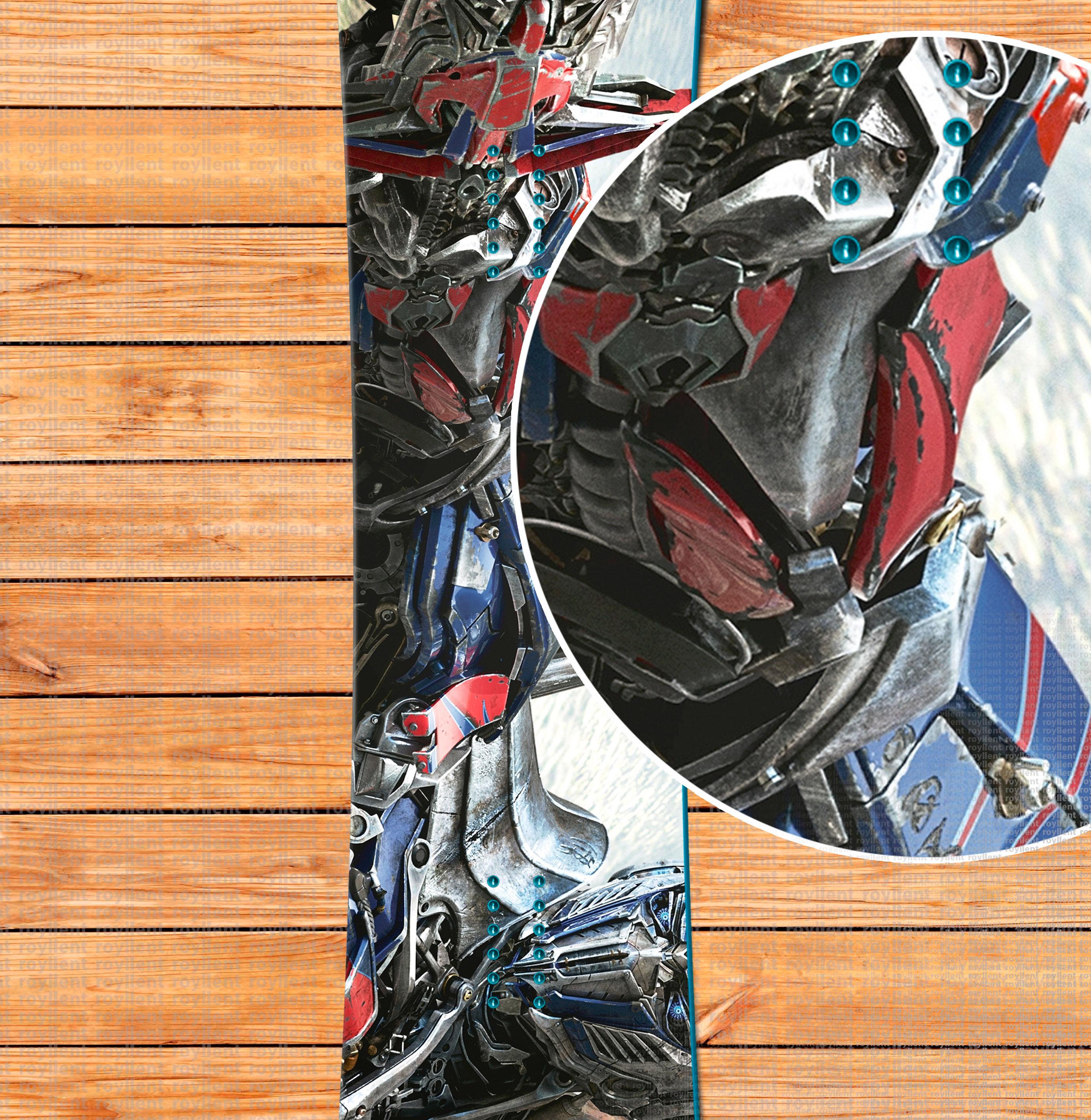 Полноразмерная виниловая наклейка купить в интернет магазине Optimus Prime in Transformers 4