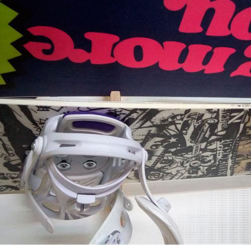 Держатель для хранения сноуборда крепление к стене Snowboard Holder