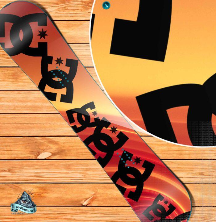 2016 Sun Color Rays DC купить сноуборд недопрого наклейка