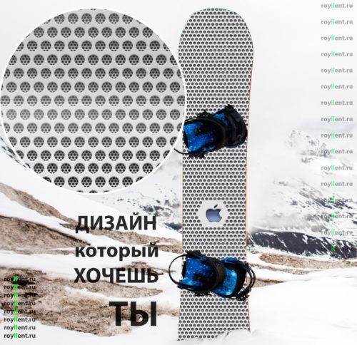 Yfrлейка на сноуборд в стиле apple купить в интернет магазине с доставкой