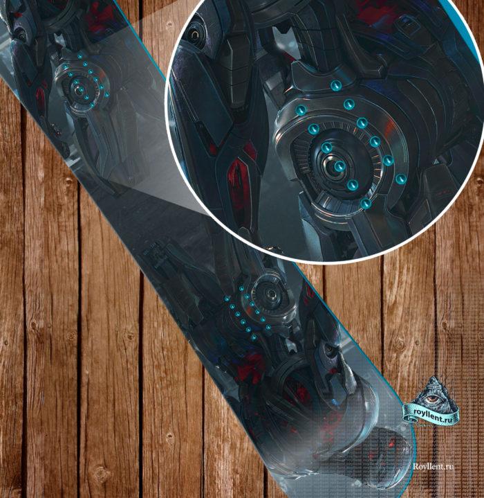 Сноуборд Альтрон — искусственный интеллект, ранее созданный для того, чтобы защищать Землю от любых угроз