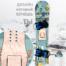 Наклейка в необычном стиле Рика и Морти в нашем магазине от 450 руб может быть нанесена на сноуборд или лонгборд или другой носитель, даже на ноутбук или холодильник.