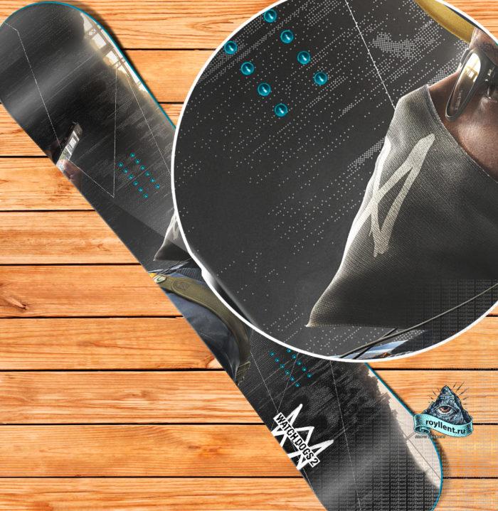 заказать дизайн сноуборда watch-dogs-2-phone-snowboard