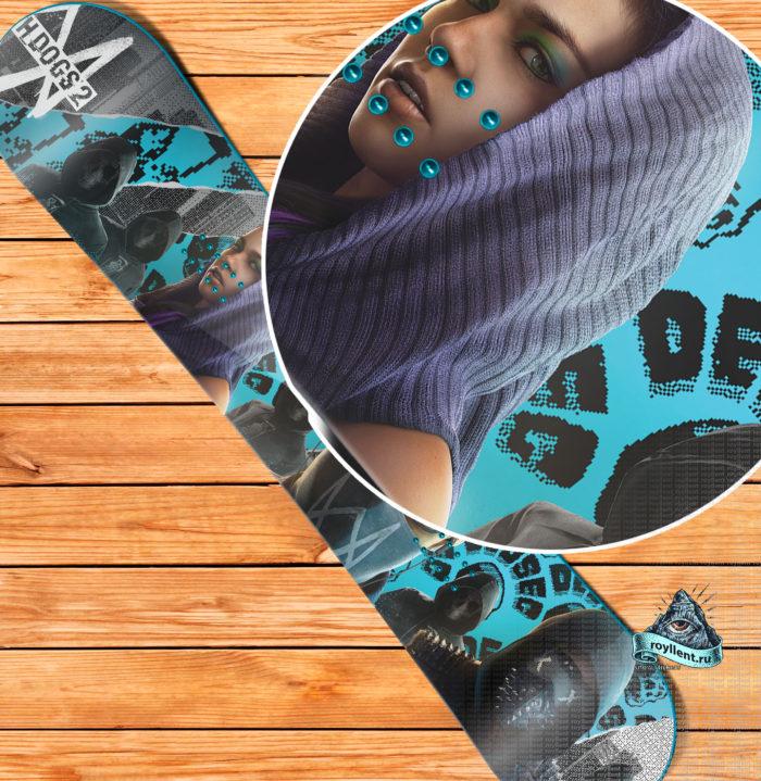 Наклейка Watch Dogs 2, наклейка WD2, наклейка на доску Watch Dogs 2, сноуборд наклейкаWatch Dogs 2, виниловая наклейка Watch Dogs 2, магазин наклеек Watch Dogs 2, купить наклейку Watch Dogs 2, стикер Watch Dogs 2, sticker Watch Dogs 2, наклейка GTA, снежком