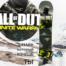 сноуборд наклейка на доску call-of-duty