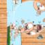 Купить виниловую наклейку на сноуборд worms-super-sheep