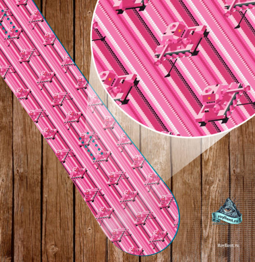Abstract Pink Tank Design