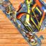 Сноуборд наклейка стикер на доску граффити яркая и сочная недорого