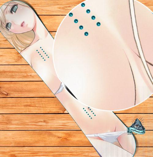 Girl Snowboard skin