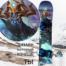 Сноуборд Наклейка полноразмерная виниловая купить в стиле Варкрафт Thunder King
