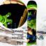 Наклейка на сноуборд купить недорого с доставкой Дракон