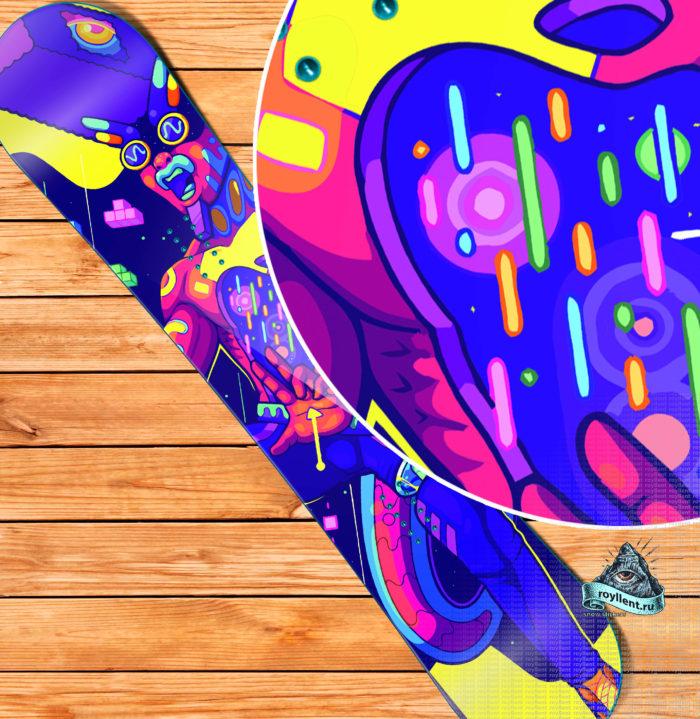 Experimental сноуборд виниловая наклейка самый большой выбор интернет магазин