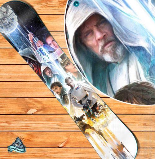 сноуборд наклейка Звёздные войны. Эпизод IX